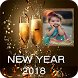 Happy New Year 2018 Photo Frame by Shree Madhava Labs