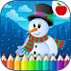 Kids Christmas Coloring Pages by TeachersParadise: Learning games for kids & adults