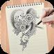 Learn To Draw Henna Tattoo by DrawAnime