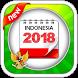 Kalender Indonesia 2018 by Cipto Suwarno