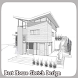 Best House Sketch Design by bashasha