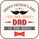 Happy Father's Day Cards by BFF Creative Studio