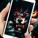 evil Roar wolf blood king theme lock screen by Cool Theme Creator