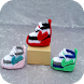Crochet Baby Shoes by Bagosoi