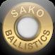 Sako Ballistics Calculator by Sako Ltd