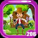 Cowboy Rescue Game Kavi - 206 by Kavi Games