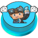 DanTDM Button by DERMEHDIAPPS