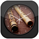 Flute Clock Live Wallpaper by Maravilha