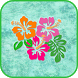 Aloha Hawaiian Hibiscus Flower by Droid Casual