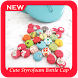 Cute Styrofoam Bottle Cap Coaster by Karna Studio