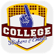 College Stickers & Emojis 2017 by 2Thumbz, Inc