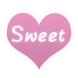 Sweet Heart by Launcher phone theme
