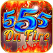 Triple 5 On Fire: slot machine by Pop n' Play