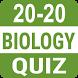 20-20 Biology Quizzes by gktalk_imran