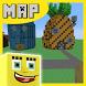 Bikini Bob Map for Minecraft by Kraftingmaps
