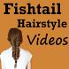 Fishtail Braided Hairstyle App by Zara Abbas567