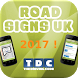 FREE - Road Signs UK 2017 by The Driving Code