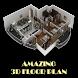 Amazing 3d Floor Plan by LufabeL
