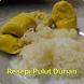Resepi Pulut Durian by waniza kreatif