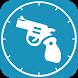 Pistol Clocks Shooter by Boom Biltz