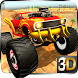 4x4 offroad Monster Truck Impossible Desert Track by TimeDotTime