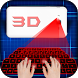 Hologram 3D Keyboard Simulator by Dolphin App Zone