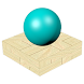 Falling Ball 3D by Fimiam