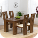 Wooden Dining Set by Yashan