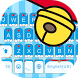 Robot Cat Keyboard Theme by Fancy Theme for Android keyboard