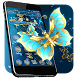 Golden Butterfly Theme & Lock Screen by Cool Themes & Wallpapers 2017