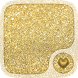 Gold Hearts Wallpaper by UniversalWallpapers