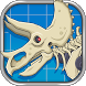 Triceratops Dinosaur Fossil Robot Age by joy4touch