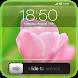 Slide to Unlock - Flower Theme by SmartDroid Tech