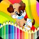 Happy Pets Coloring Book by DevMos