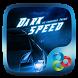 Dark Speed GO Luancher Theme by ZT.art