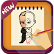 How To Draw The Boss Baby by iDev-New : Drawing Apps