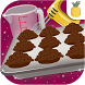 Cooking chocolate cupcakes by Pineapps
