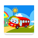 The wheels on the bus puzzle by Educational fun family games for kids and toddlers