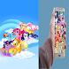 my little pony wallpaper by Desaindevapp