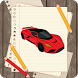 Draw sports cars 3D by Blond4444