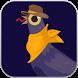 stupid trash dove fly in sky by blackOum soft