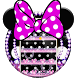 Cute Minny Diamond Bowknot Theme by Theme Creative Center
