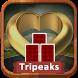 TriPeaks Treasures by PuzzlePups