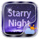 Starry Night GO Weather Widget Theme