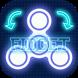 Fidget Spinner Neon 3D by Gexmob