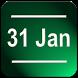 Date Status Bar 2 by Wagwan Apps