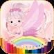 Coloring book princess by jackbaur24