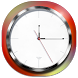 Minimalistic Clock Widget by Golden Diamonds