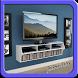 TV Shelves Design by JakiroApps