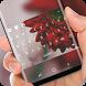Flower Theme Red Flora Keyboard